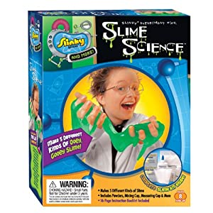 POOF-Slinky 02021 Slinky Science Slime Science Mini Lab Kit with (5) Slime Recipes, 7-Activities