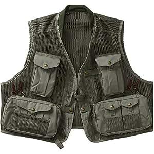 Filson mesh fly fishing vest large sports for Fishing vest amazon