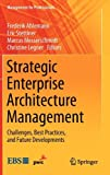 img - for Strategic Enterprise Architecture Management: Challenges, Best Practices, and Future Developments (Management for Professionals) book / textbook / text book