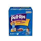 Huggies Pull-Ups Training Pants with Learning Designs for Boys, 4T-5T, 56 Count