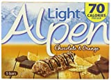Alpen Light Chocolate and Orange Cereal Bars 19 g (Pack of 5)