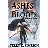 Ashes and Blood (Aegis of the Gods Book 2) ~ Terry C. Simpson