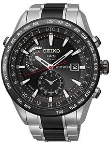 Seiko SAST015G Astron GPS Solar Mens Watch