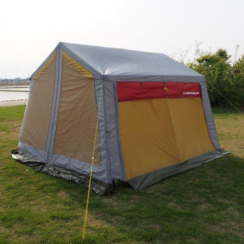 TML(Trailer Mailing List) ロッジ型STスクリーンテント 幅340cm×奥行340cm×高さ230cm ST-1226