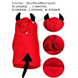 Halloween Dog Habiliment OMEM little Devil Costumes Funny Clothes for Pets (XS)