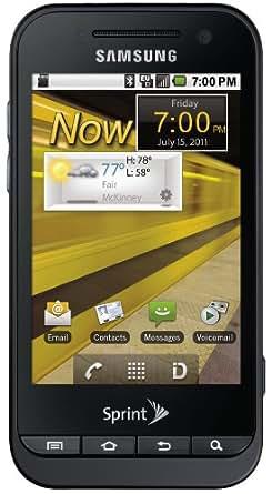 Samsung Conquer, Black (Sprint)