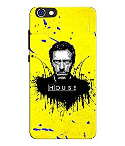 EU4IA DR. HOUSE MATTE FINISH 3D MATTE FINISH Back Cover Case For Huawei Honor 4X - D526