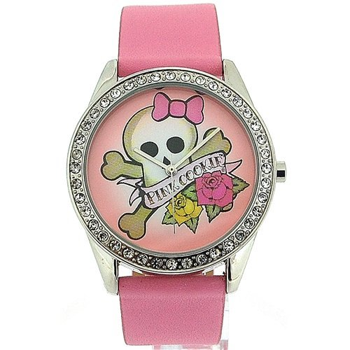 Pink Cookie Ladies-Girls Analogue Pink Dial &