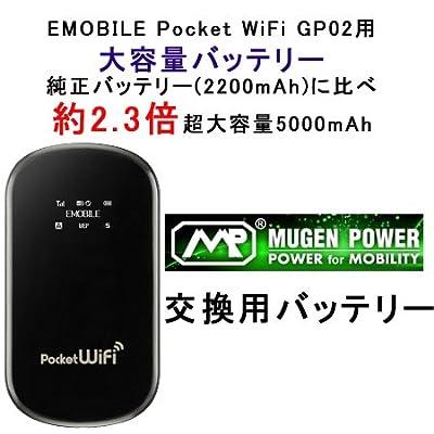 ポケットWifi(E-MOBILE)