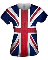 Yizzam- Union Jack -Tagless- Womens Shirt