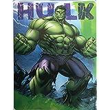 Marvel Avengers Hulk Silk Touch Sherpa Throw Blanket Twin Size 60