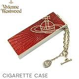 Vivienne Westwood ヴィヴィアンウエストウッド アクササリー ViVienne Westwood 携帯用 灰皿 レッドシルバー シガレットケース たばこ 並行輸入品