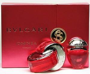 Coffret / Gift set Bulgari Coral Eau de toilette pour femme / Woman 65ml + 15ml