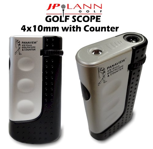 All-In-One Golf Scope Rangefinder (4X10Mm) & Stroke Counter By Jp Lann