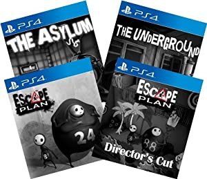 Escape Digital Bundle: Game + 3 DLCs - PS4 / PS Vita [Digital Code] from Sony PlayStation Network