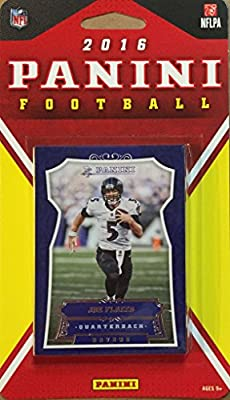 Baltimore Ravens 2016 Panini Factory Sealed Team Set with Joe Flacco, Steve Smith, Terrell Suggs, Rookie Cards plus