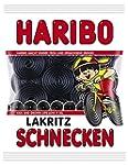 Haribo Lakritz- Schnecken, 200 g
