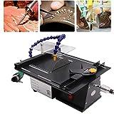 Water Cooling Jewelry Rock Polishing Saw Kit, Professional High-Precision Gem Polishing Machine, 10000RPM Mini Table Saw Kit for Gem Rock Cutting & Polishing (Color: Black)