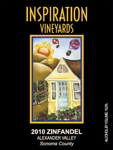2010 Inspiration Vineyards Zinfandel Alexander Valley 750 Ml