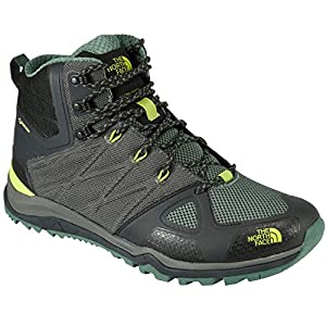 THE NORTH FACE(ザ・ノースフェイス) Ultra Fastpack II MID GORE-TEX NF01620 ファントムグレー×ライムグリーン(PG) 10.0(28.0cm)