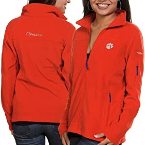 NCAA Clemson Tigers Ladies Give and Go FZ T-Shirt by Columbia
