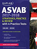 ASVAB 2017-2018 Strategies, Practice, and Review with 4 Practice Tests: Online   Book