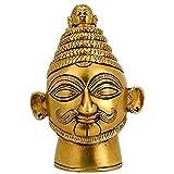 Redbag Shiva Head Brass Statue ( 10.80 Cm, 6.99 Cm, 6.35 Cm)