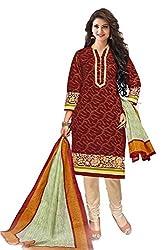 Gugaliya Women's Unstiched Superior Cotton FASHION SALWAR,KAMEEZ & DUPATTA Suit ( P536 )