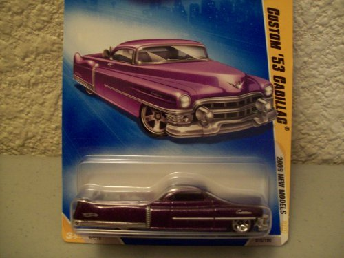 Hot Wheels 2009 New Models Purple Custom 53 Cadillac 1:64 Scale - 1