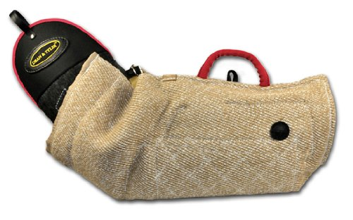 Dean and Tyler Intermediate Bite Double Sleeve, Jute - Fits Right Hand (Color: Vary, Tamaño: One Size)