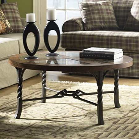 Medley Round Coffee Table in Camden Finish