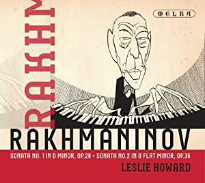 Rachmaninov: Sonata No. 1 in D minor, Op. 28 & No. 2 in B flat minor, Op. 36