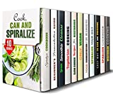 img - for Cook, Can and Spiralize Box Set (11 in 1): Great Vegetarian, Vegan, Spiralizer Recipes Plus Fermentation Guide to Canning and Preserving Your Veggies (Fermentation & Vegetarian Recipes) book / textbook / text book