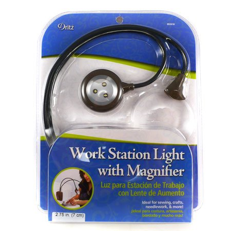 Work Station Light With Magnifier - 1