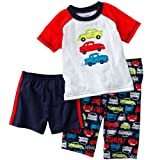 Carters Boys 2T-4T Car 3 Piece Pajama Set