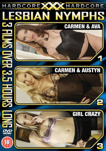 XXX Hardcore - Lesbian Nymphs (3 film boxset) [DVD]