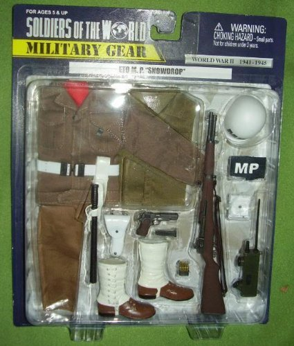 Buy Low Price Formative International ETO M.P. (Military Police) SNOWDROP Gear WWII Soldiers of the World Figure (B005174QB6)