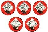 "Tabasco ""Spicy Dark Chocolate Wedges"" - Pack of 5"