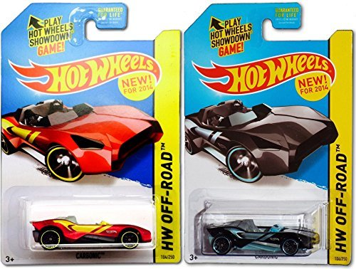 Carbonic Hot Wheels Variant Set #204 HW Off-Road Stunt 2014 - 1