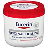 Eucerin Original Healing Rich Creme 16 Ounce (Pack of 2)