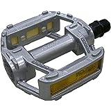 "MKS RMX Platform Pedals - 9/16"", Silver"
