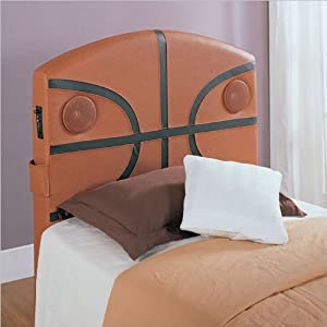 Homelegance Speaker Twin Headboard Basketball from Homelegance