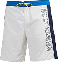 Helly Hansen Logo Short Homme Blanc/Blue Bright FR : 40 (Taille Fabricant : 30)