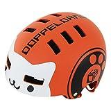 DOPPELGANGER キッズヘルメット [頭周囲:51~55cm 対象年齢目安:3歳8歳]ベンチレーション配置 CE適合/製品安全基準合格品 手洗い可能インナーパッド BMXベースモデル DHL270-OR