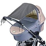 DIAGO Deluxe - Cochecito de bebé, color gris