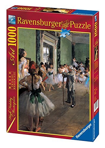Ravensburger Puzzle 1000 pieces - School of Dance - Degas (code 15462) by Ravensburger