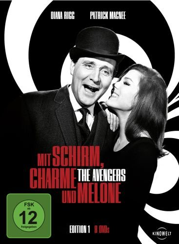 Mit-Schirm-Charme-und-Melone-Edition-1-8-DVDs