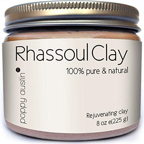 Poppy Austin 100% Organic Rhassoul Clay and Facial Mask (Blackhead Remover Pink compare prices)
