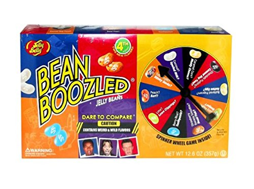 Jelly Belly BeanBoozled Jumbo Spinner Jelly Bean Game Gift Box 12.6oz (Jelly Boozled compare prices)