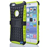 Nancys Shop Iphone 6 Plus 5.5 Inch [Kickstand] Case,deego New Release [Heavy Duty] Combo Armor Defender [Dual Layer] Grip Case with Prime [Kickstand] for Apple Iphone 6 Plus 5.5 Screen Smartphone(at&t, Verizon, T-mobile, Sprint,) - (Nancys Shop Kickstand Case - Green)